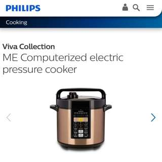 Ltd Stk!! BNIB Viva Collection ME Computerized electric pressure cooker HD2139/62