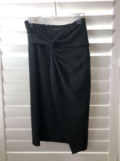 Zara long line skirt