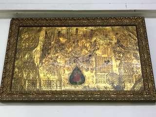 Thangka framed