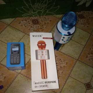 Wireless microphone & samsung keypad