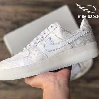 Nike Air Force 1 x Clot。