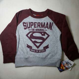 Superman sweat shirt
