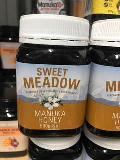Sweet meadow Manuka honey 500g
