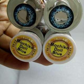 Doll eye contact lense