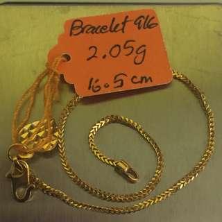 Bracelet Gold 916
