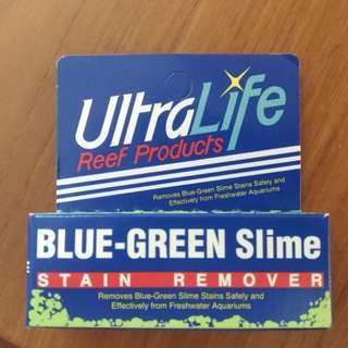 Ultralife Blue-Green Slime Stain Remover