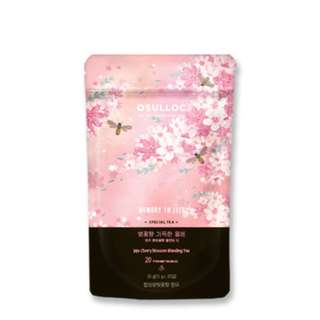 <PO>Osulloc  Memory in Jeju-Cherry Blossom Blending Tea