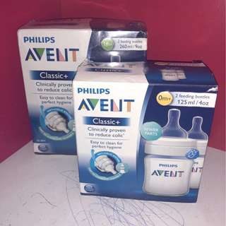 PHILIPS AVENT classic + 0% BPA, twin bottles
