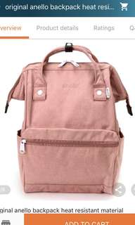 Pink Anello Backpack