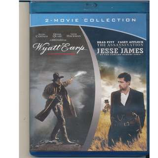 The Assassination of Jesse James/Wyatt Earp Double Pack [Blu-ray]