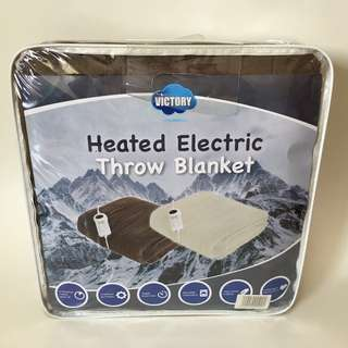 100% new新 – Electric Blanket (Double size)雙人電暖毯