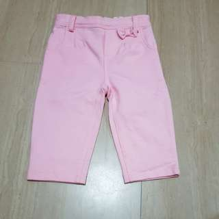 Fox Baby Pink Pants