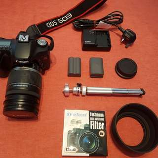 DSLR Canon 50D (condition 8.5/10)