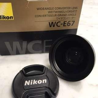 Nikon WC- E67 Wide angle converter len