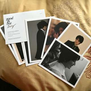 絕版 李準基 lee joon gi good bye boy postcard set 罕有