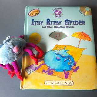 Mother Goose Itsy Bitsy Spider And Other Clap Along Rhymes