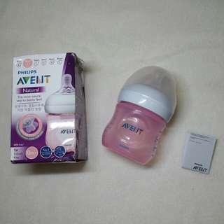 Avent Natural bottle (pink) 4oz