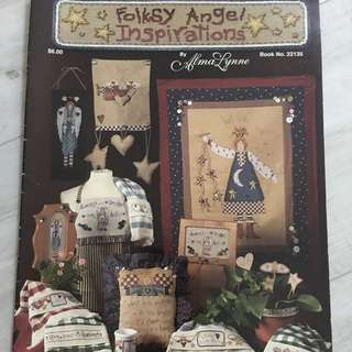 Angels Cross Stitch card