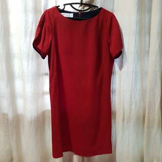 The Editior's Market Red Dress