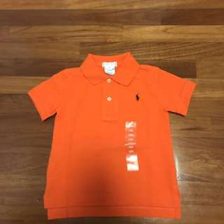 BNWT Ralph Lauren Boy's polo 12m