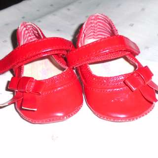 Charity Sale! Sprout baby girl shoes size 0-3 months newborn