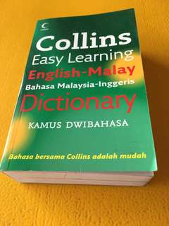 Collin's easy learning English - Malay Dictionary