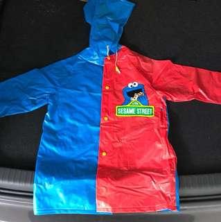 Sesame Street raincoat