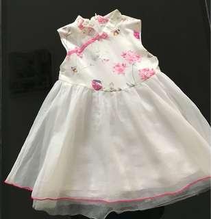 Jual baju dress cheongsam anak 2thn (uk. 100)