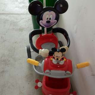 Goodbaby Mickey Mouse tricycle for toddler