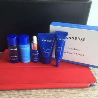 Laneige Travel Kit - Perfect Renew (5 pcs)