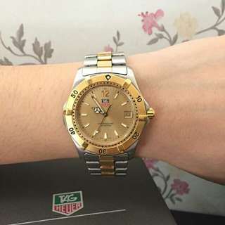 AUTHENTIC TAG HEUER BOYFRIEND WATCH