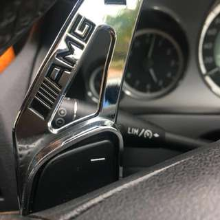 Unique mercedes AMG paddle sport shifter extension