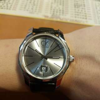 CK 時尚簡約石英手錶
