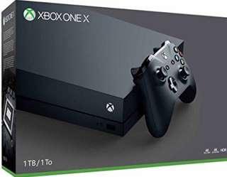 Microsoft Xbox One X 1TB Console - Console Edition