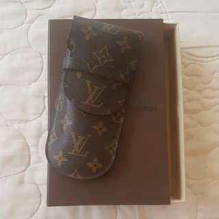 Louise Vuitton Monogram Eyeglass holder with dustbag ang box