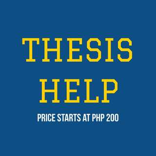 Thesis Help