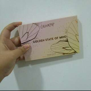 #15off REDUCED Ready Stock Colourpop Golden State of Mind #feb50