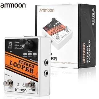 ELE0005| ammoon STEREO LOOPER Guitar Pedal (Pre-Order)