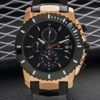 Jam tangan Swiss Army Date Crono Limited Edition