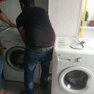 Washing machine beko branded from europe