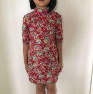 Girl Cheongsam Qipao