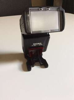 Sigma speed light flash EF-500 dg for Sony dslr