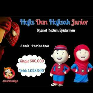 Hafiz junior spiderman | Hafizah Junior