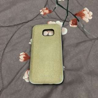 S7 Edge Casing - Gold