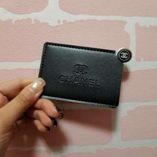 Chanel gift 卡片套連鏡禮盒化妝袋化妝包銀包 lv gucci dior