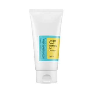 $9.90 [FREE SAMPLE] Cosrx Low pH Good Morning Gel Cleanser 150ml