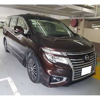 2014 NISSAN ELGRAND HIGHWAYSTAR 2.5