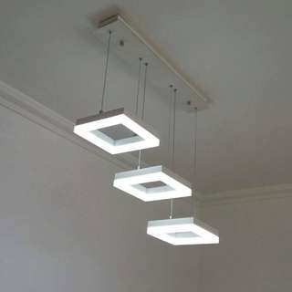 Modern Square Drop lights