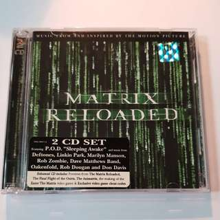 MATRIX RELOADED SOUNDTRACK 2CDs