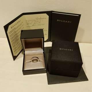 💎💎Authentic Bvlgari B.ZERO1 White Gold Signature Ring (1Band) 💎💎